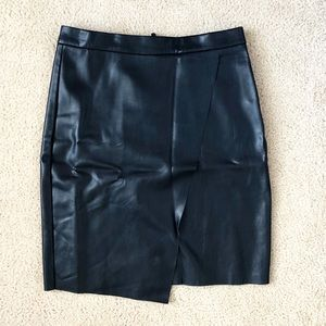 H&M Faux Leather Skirt - Sz 6